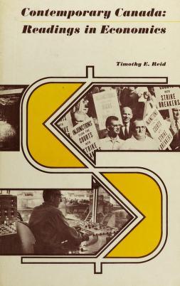 Cover of: Contemporary Canada | Timothy Escott Herriot Reid
